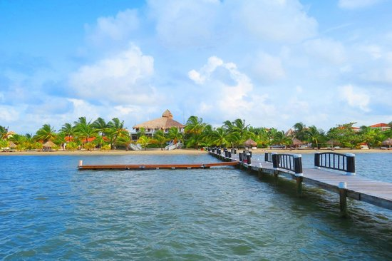 The Placencia Hotel and Residences: View from the pier
