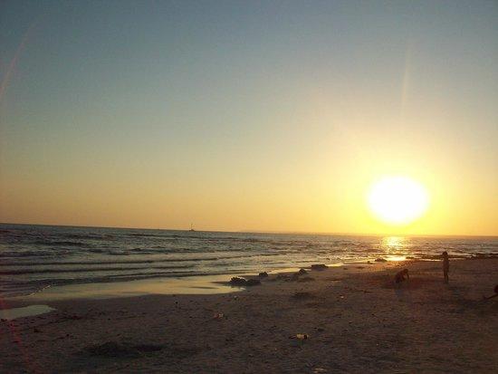 Playa de Es Trenc: Es Trenc hermosa al atardecer