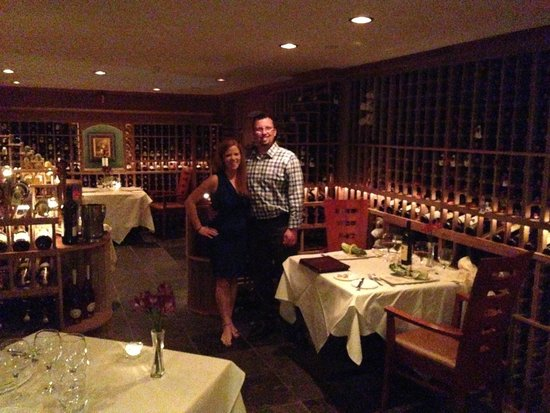 Mountain View Grand Resort & Spa : The Wine Cellar Dinner
