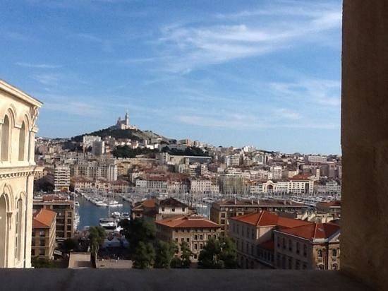 InterContinental Marseille - Hotel Dieu: view from our 7th floor room