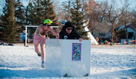 Edmonton, Canada: Deep Freeze A Byzantine Winter Festival