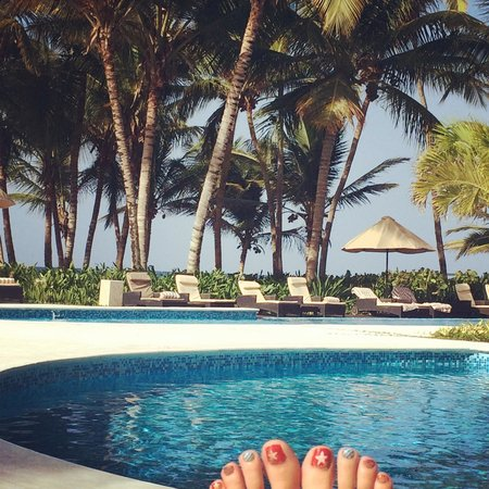 Sivory Punta Cana Boutique Hotel: view from the pool
