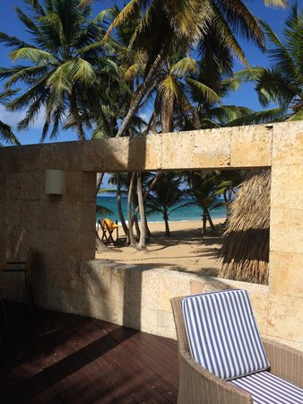 Sivory Punta Cana Boutique Hotel: view at breakfast