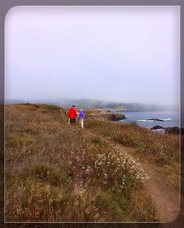 Mendocino Headlands State Park: Hiking along the coast