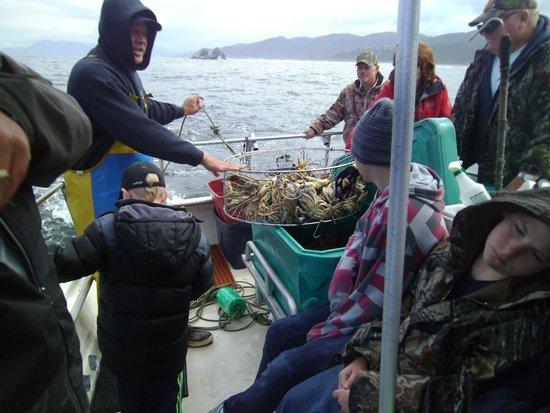 Harborview Inn & RV Park: Charter fishing trip