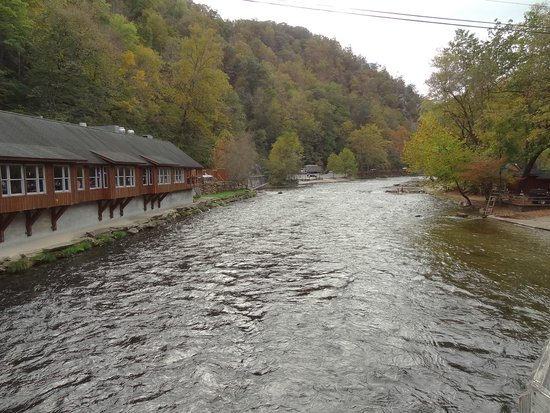 Big Wesser Brew & BBQ: View from bridge located beside the restaurant!