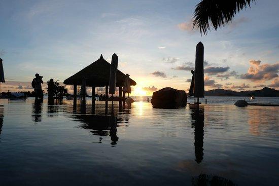 Le Domaine de L'Orangeraie Resort and Spa: Coucher de soleil