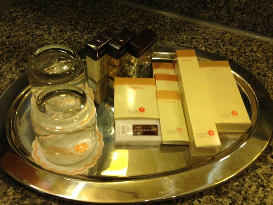 Rembrandt Hotel Bangkok: toiletries