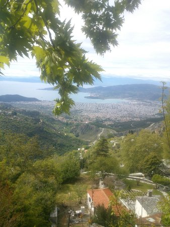 Arhontiko Sisilianou : View from the breakfast room_Volos gulf