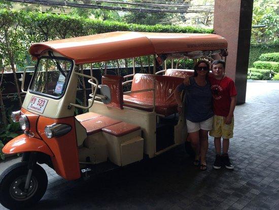 Rembrandt Hotel Bangkok: Free Tuk Tuk Service