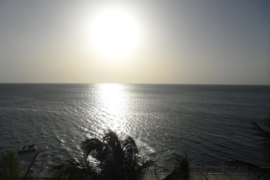 Royal Decameron Montego Beach: sunset from our balcony