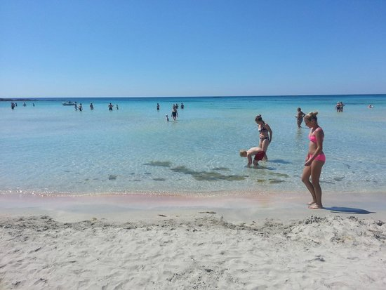 Playa de Elafonisi: Elafonissi