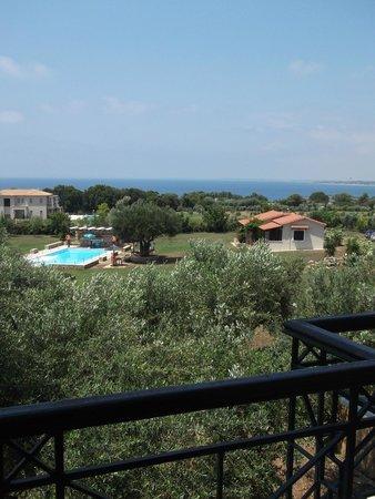 Villa Georgina: θέα από δωμάτιο 1ου ορόφου