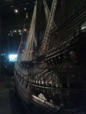 Vasa-Museum: The dark ship