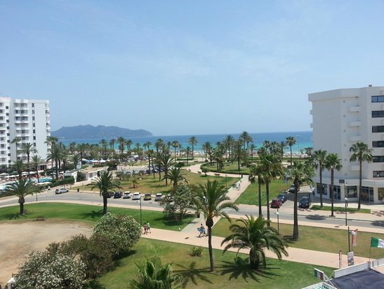 Hipotels Aparthotel Cala Millor Park : Nice Sea View (Junior Suite)