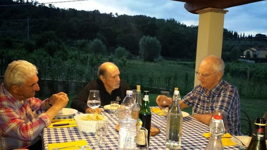 San Ginese, Italy: Welcome Dinner