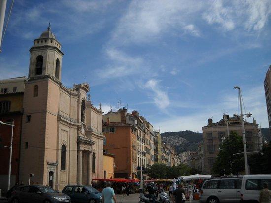 Cours Lafayette : eglise saint francois de paule