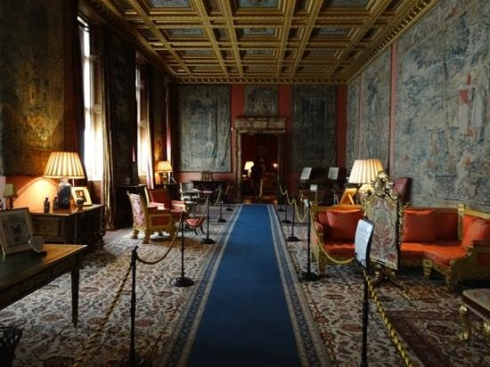 Longleat: nice sitting room