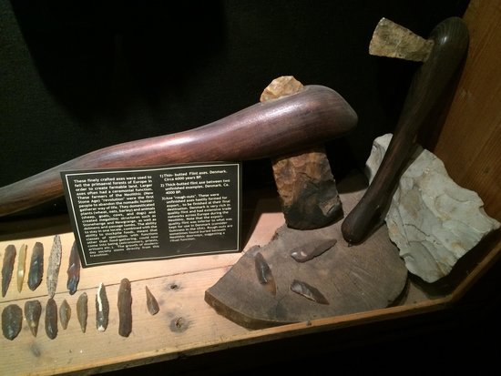 Ventry, Irlanda: An Item displayed at prehistoric museum