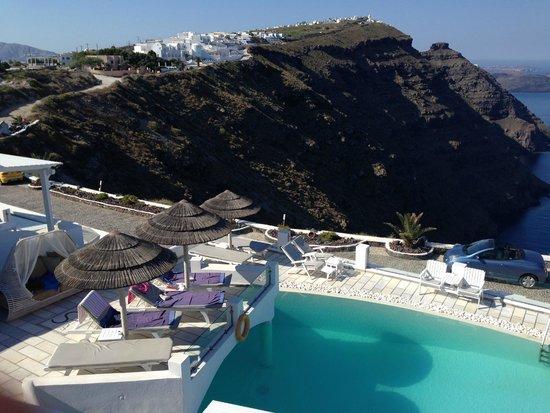 Santorini Princess: view