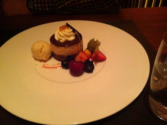 Carpe Diem Finest Fingerfood: Excellent dessert