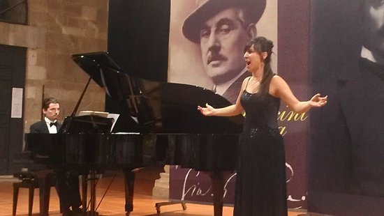 Puccini e la sua Lucca International Permanent Festival : Melissa Di Biasio singing Puccini