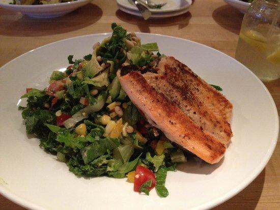 Vinaigrette: Salad with Trout