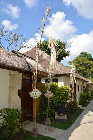 Belmond Jimbaran Puri: l'entree de notre cottage