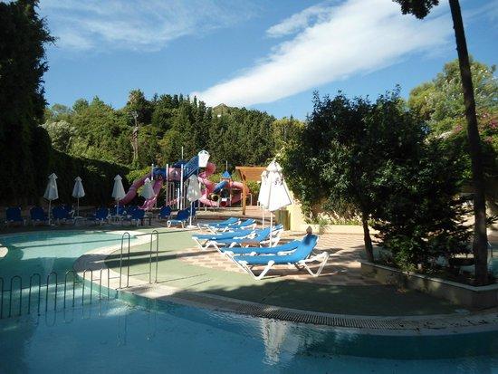 Rodos Palace: εξωτερικος χωρος