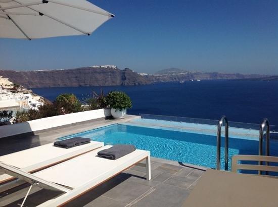 Santorini Secret Suites & Spa: cant get better than this!