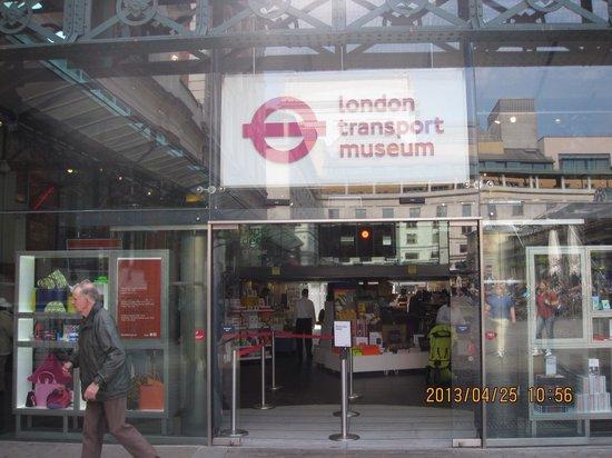 Covent Garden: ミュージアムもあります。