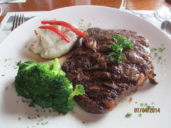 Fireside Restaurant: Fireside Steak!