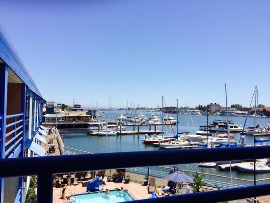 Waterfront Hotel, a Joie de Vivre hotel: But... The Views!  <3