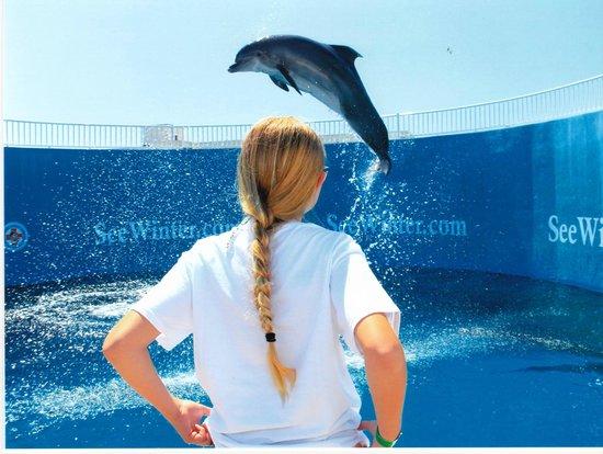 Clearwater Marine Aquarium: with Nicholas