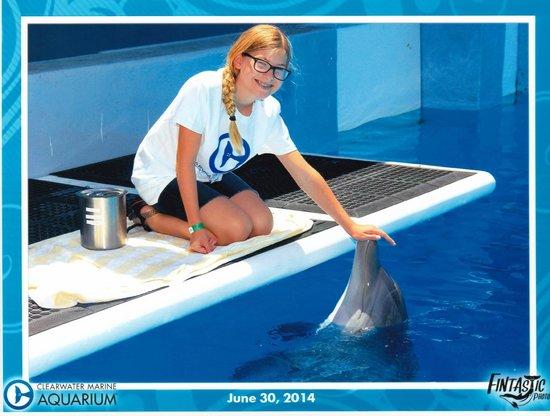 Clearwater Marine Aquarium: with Hope