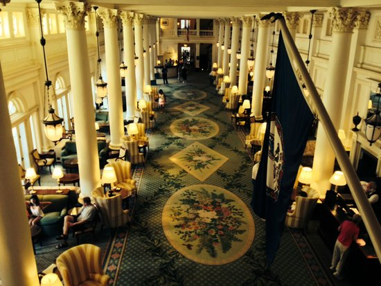The Omni Homestead Resort: The Grand Hall