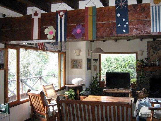 Hostel La Angostura : Sala de estar