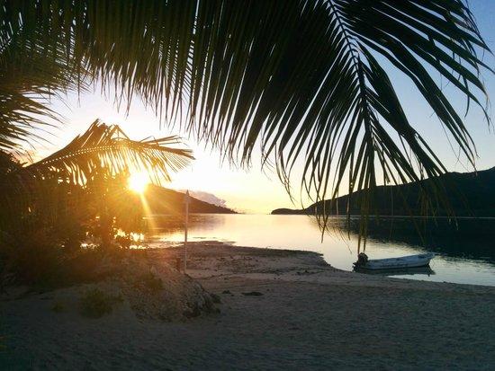 Navutu Stars Fiji Hotel & Resort: View from the main beach