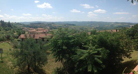 Ristorante  Oltre il giardino: Panoramic view