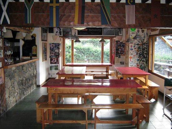 Hostel La Angostura : Comedor