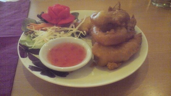 Boonnak Thai: Crispy prawns