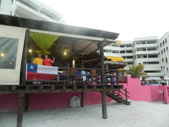 NYX Hotel Cancun: En el restaurant del hotel