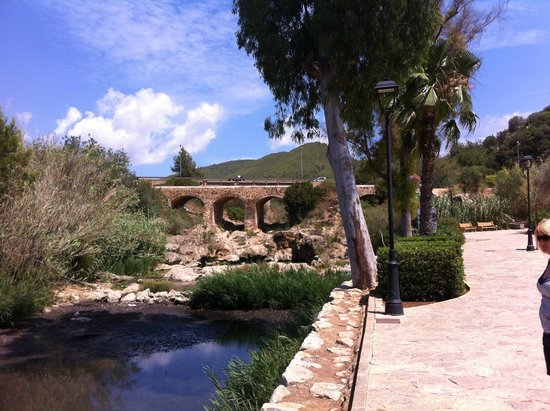 Palladium Hotel Don Carlos : View up the river between Siesta and Santa Eulalia