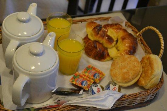 Quinta & Suites Apart Hotel: desayuno