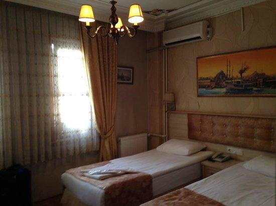 Tashkonak Hotel: My room