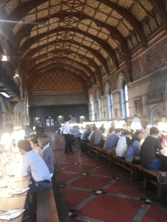 Keble College : dining