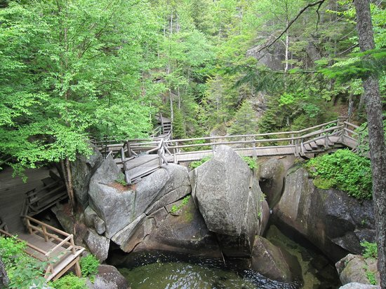 Lost River Gorge and Boulder Caves: Great views, even from the boardwalk