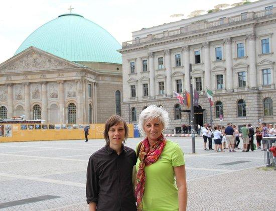 Cicerone Berlino: Antonella e Holger