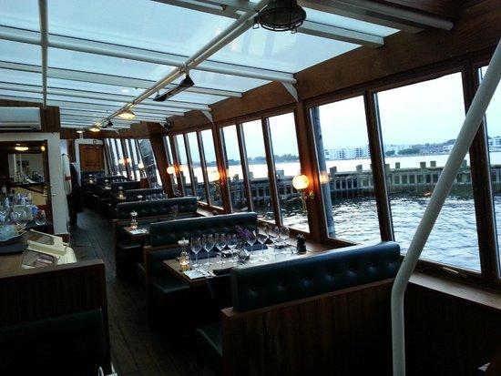 Restaurant Prinses Juliana.: Il bel panorama sul Limf Jorden, al tramonto verso West