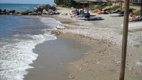 Lakitira Resort & Village: Spiaggia ?